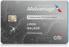 Aadvantage credit cards aadvantage partners american airlines citibusiness aadvantage platinum select card reheart Images