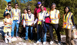 American Airlines Indian Employee Resource Group goes green by cleaning up community parks