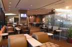 Denver Admirals Club TV Area