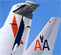 American Airlines and American Eagle Aircraft Tails
