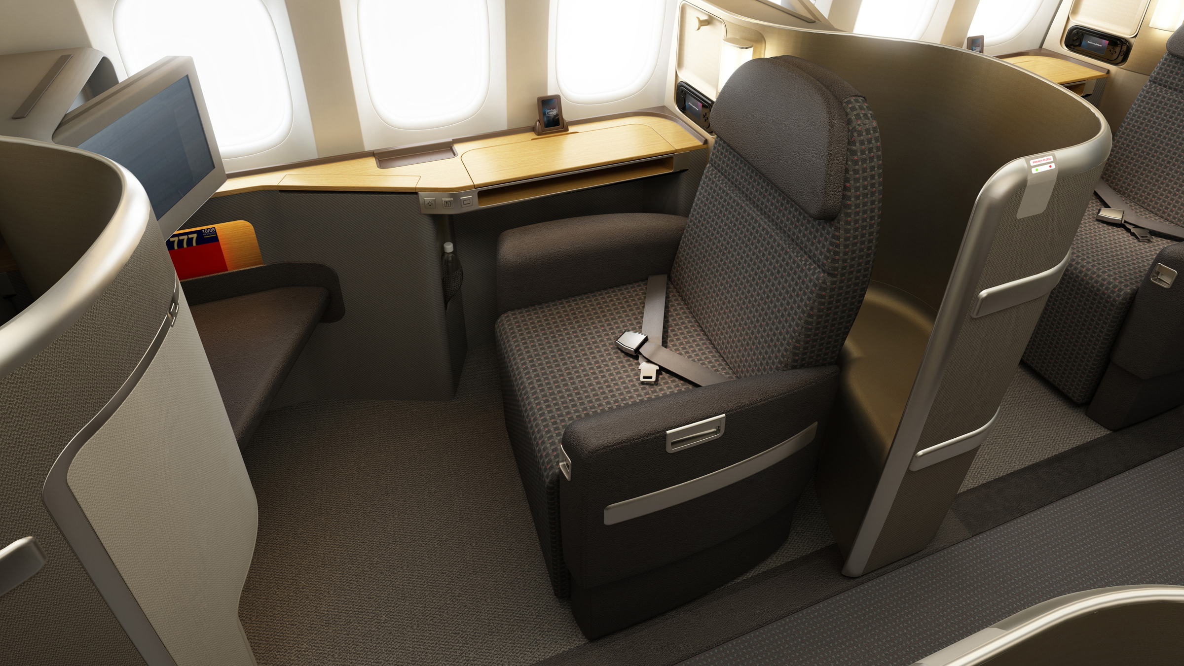 A different take on the new American Airlines 777-300ER interior