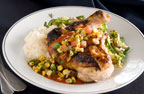 Chef Sandoval's lemongrass marinated chicken
