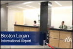 American Airlines' upgraded Admirals Club at Boston Logan