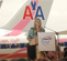 AA Komen Plane Dedication