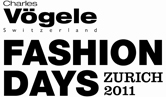 Offizieller Partner der Fashion Days Zurich 2011.