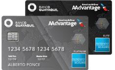 Tarjetas Banco Guayaquil Aadvantage 174 En Ecuador