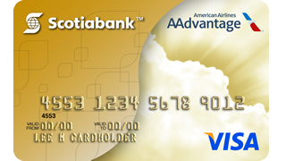 Scotiabank / AAdvantage Gold Visa card