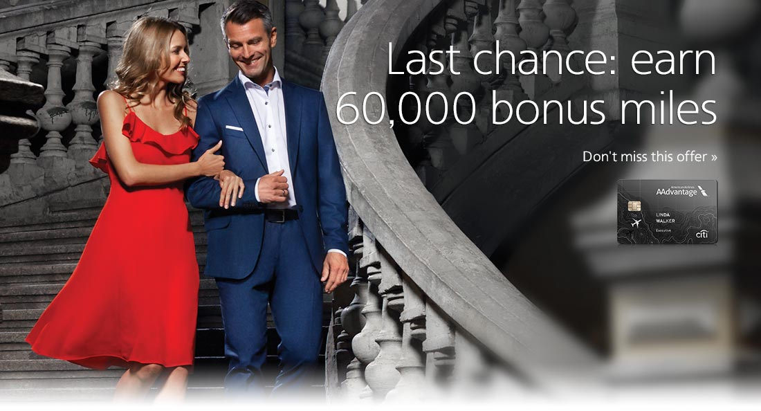Limited time: earn 60,000 bonus miles