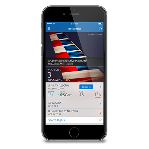 Mobile And App Travel Information American Airlines