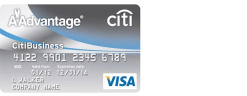 Citibusinessr aadvantager card credit cards american for Www citibusinesscard com