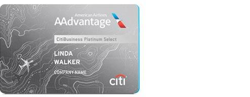 CitiBusiness AAdvantage card − Credit cards − American