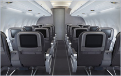 A321, A319, B737 First Class Back Front