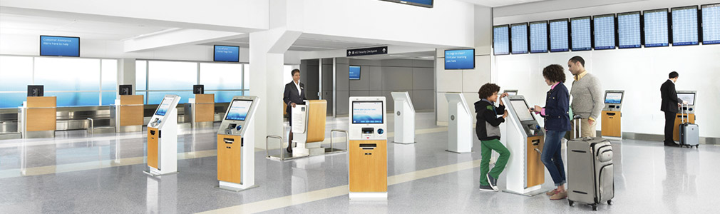 Kiosk Travel Information American Airlines