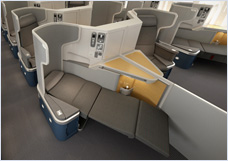 Fully Lie Flat Seats