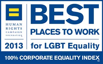 Human Rights Campaign Foundation 2013, Best Places to Work for LGBT Equality award logo