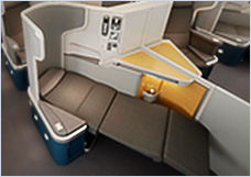 Fully Lie-Flat Business Class Seats