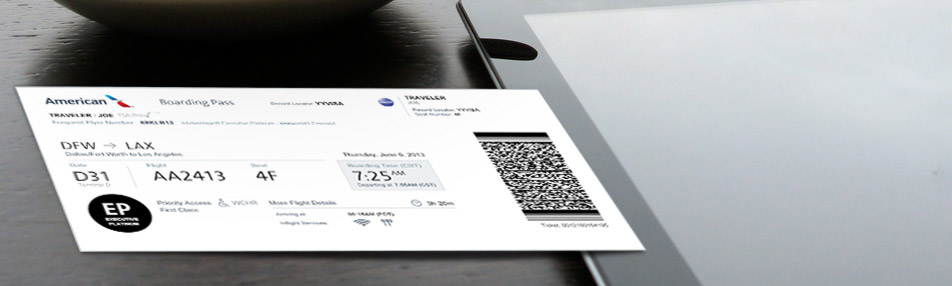 New Boarding Pass