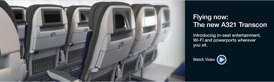 New Planes - In Seat Entertainment, Wi-Fi and Powerports