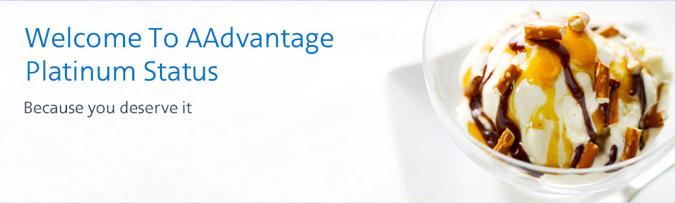 AAdvantage Platinum Status