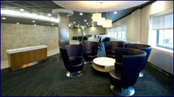 London Heathrow Admirals Club Lounge