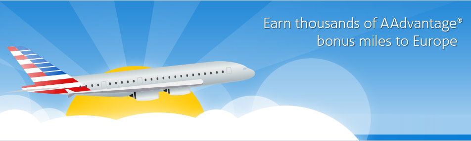 American Airlines AAdvantage Bonus Mile Offer To Europe