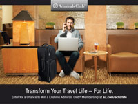 Transform Your Travel Life for Life Sweepstakes
