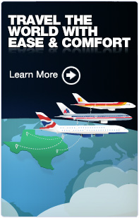 Travel the World With Ease & Comfort