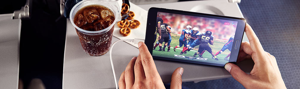 Inflight entertainment − Travel information − American Airlines
