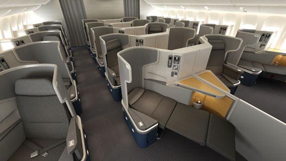 Falando de viagem boeing 777 200 da american airlines for Interieur boeing 757