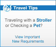 Traveling with a stroller or pet?