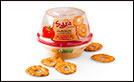 Sabra Roasted Red Pepper Hummus with Pretzels