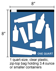 Clear Plastic Zip Lock Bag