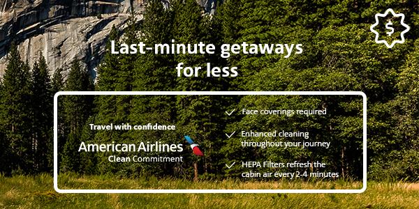 Weekend Getaway Flights